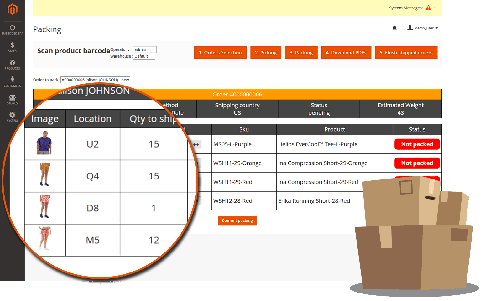 feature erp magento 2